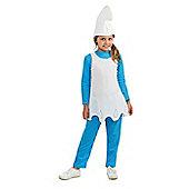 Rubies Fancy Dress - The Smurfs - Smurfette Costume - UK Child Size Medium 5-7 Years