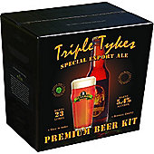 Bulldog Home brew beer kit - Triple Tykes Special Export Ale - 40 pints