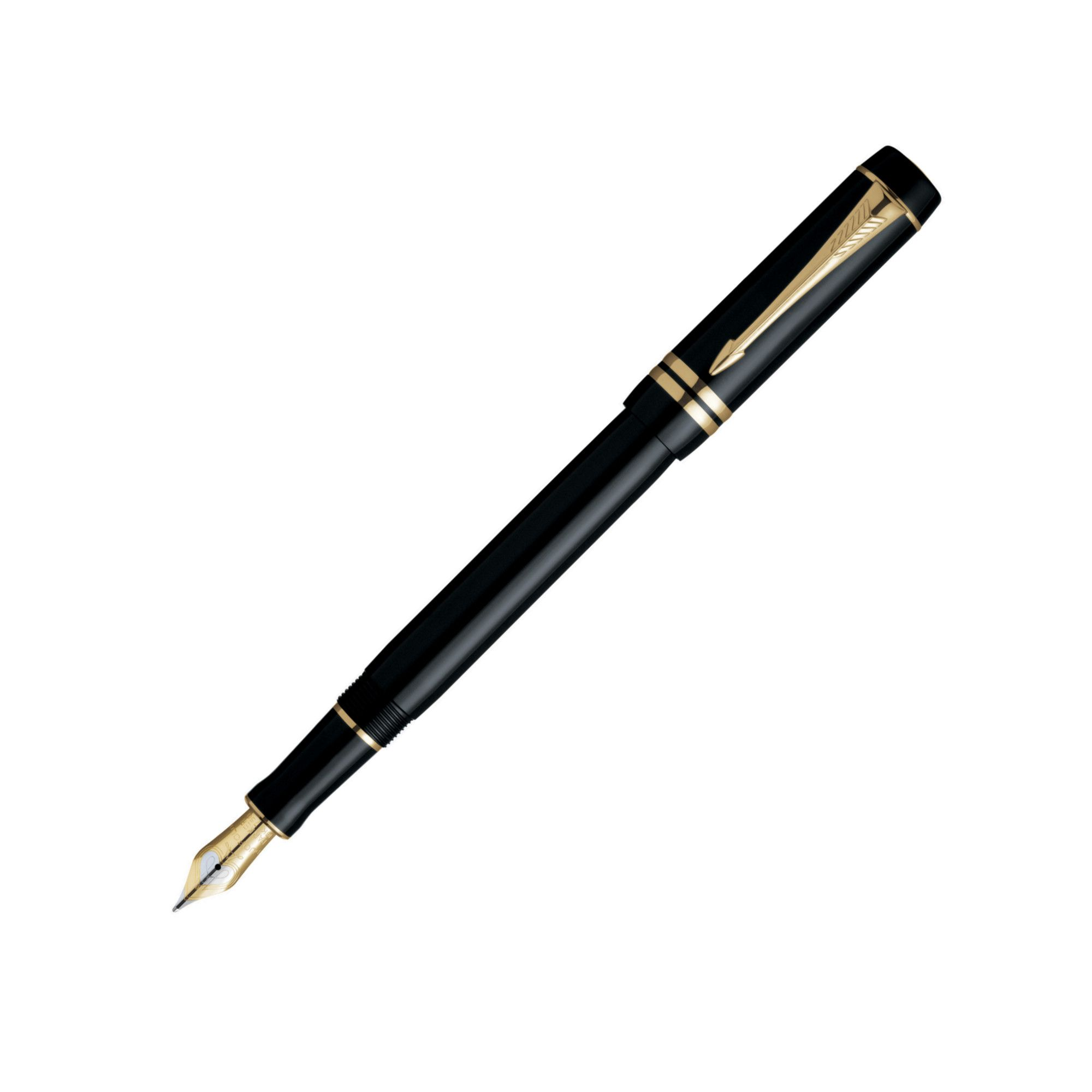 Parker Duofold Black and Gold Centennial Fountain pen at Tesco Direct