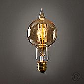 MiniSun 40W Amber Tinted Sultan Squirrel Cage Bulb - ES E27