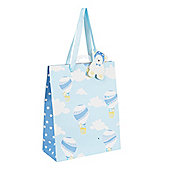 Mothercare Hot Air Balloon Blue Gift Bag