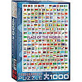 Flags of the World - 1000pc Puzzle
