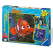 3-In-1 Finding Nemo 49 Piece Jigsaw Puzzles - Ravensburger