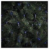 160 Multi Function Net LED Christmas Lights, Blue