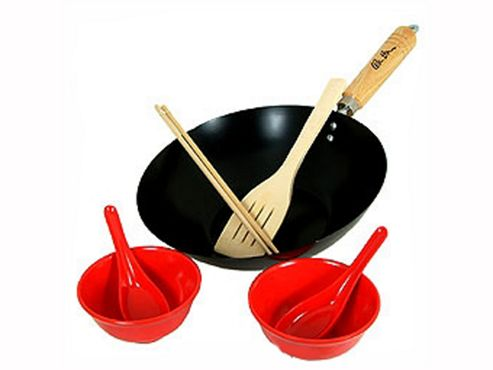 Levene Kh412 Ken Hom Wok Set For 2