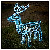 Animated Rope Light Reindeer