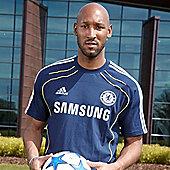 2010-11 Chelsea UEFA Champions League Training Tee (Navy) - Navy