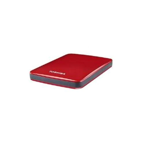 Toshiba Stor.E Canvio 500GB 2.5 inch USB 3.0 External Hard Drive (Red)