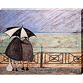 Sam Toft It's A Wonderful Life Canvas Print