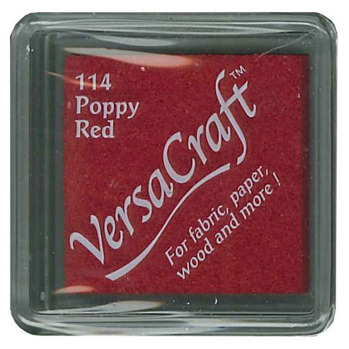 Versacraft Ink Pad Poppy Red