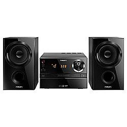 Philips BTM1360/05 FM and Bluetooth Hi-Fi Microsystem (Black)