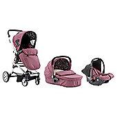 Baby Elegance Beep TwistTravel System, Purple