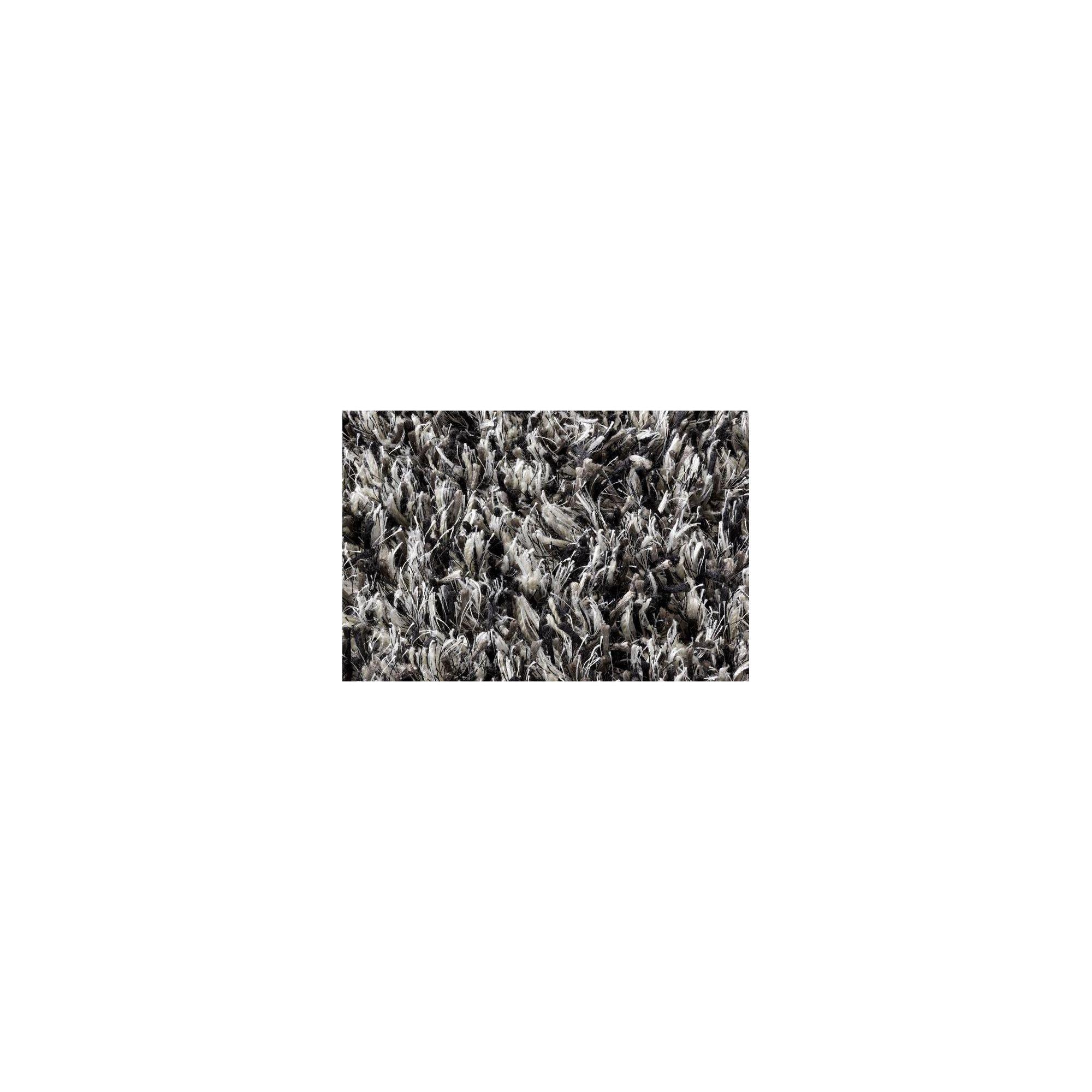 Linie Design Ronaldo Grey Shag Rug - Round 150cm at Tesco Direct