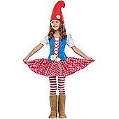 Child Gnome Girl Costume