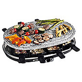 8 Person stone Raclette Grill
