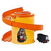 Take-N-Play Thomas & Friends: Orange Spiral Track Pack with DIESEL