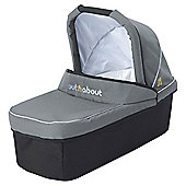Out n About Nipper Single Carrycot- Steel Grey