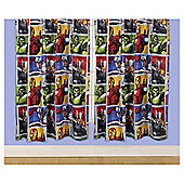 "Marvel Avengers Curtains W168x183cm (66x72"")"
