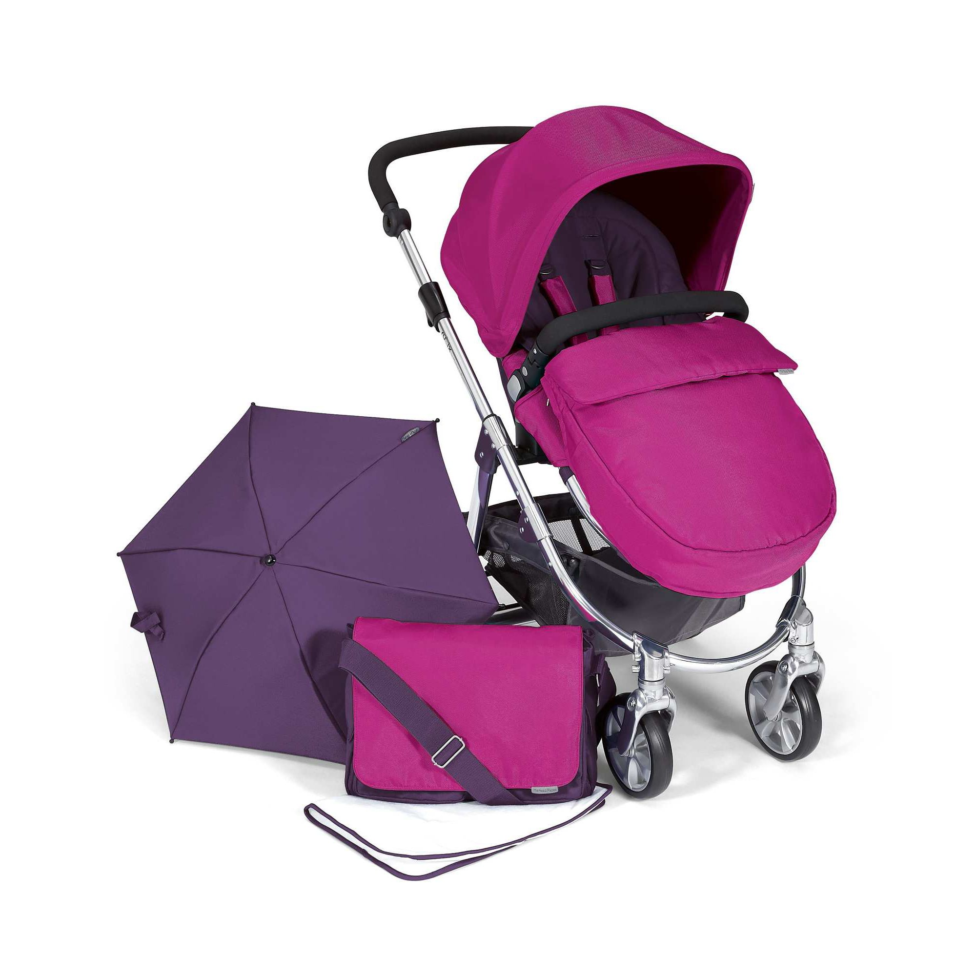 Mamas & Papas - Rubix Package - Fuschia at Tesco Direct