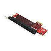 StarTech.com PCI Express X1 to X16 Low Profile Slot Extension Adapter