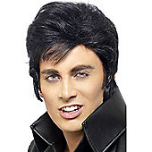 Adult Elvis Wig BLACK