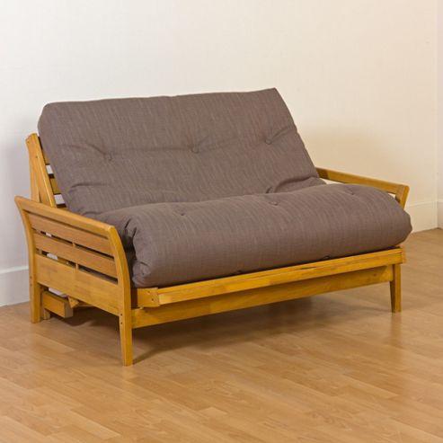 Kyoto Osaka 2 Seater Convertible Sofa Clic Clac Bed - Natural
