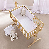 Clair de Lune 2pc Crib Bedding Set (Starburst White)