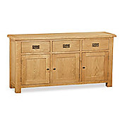 Zelah Oak Large Sideboard - Rustic Oak
