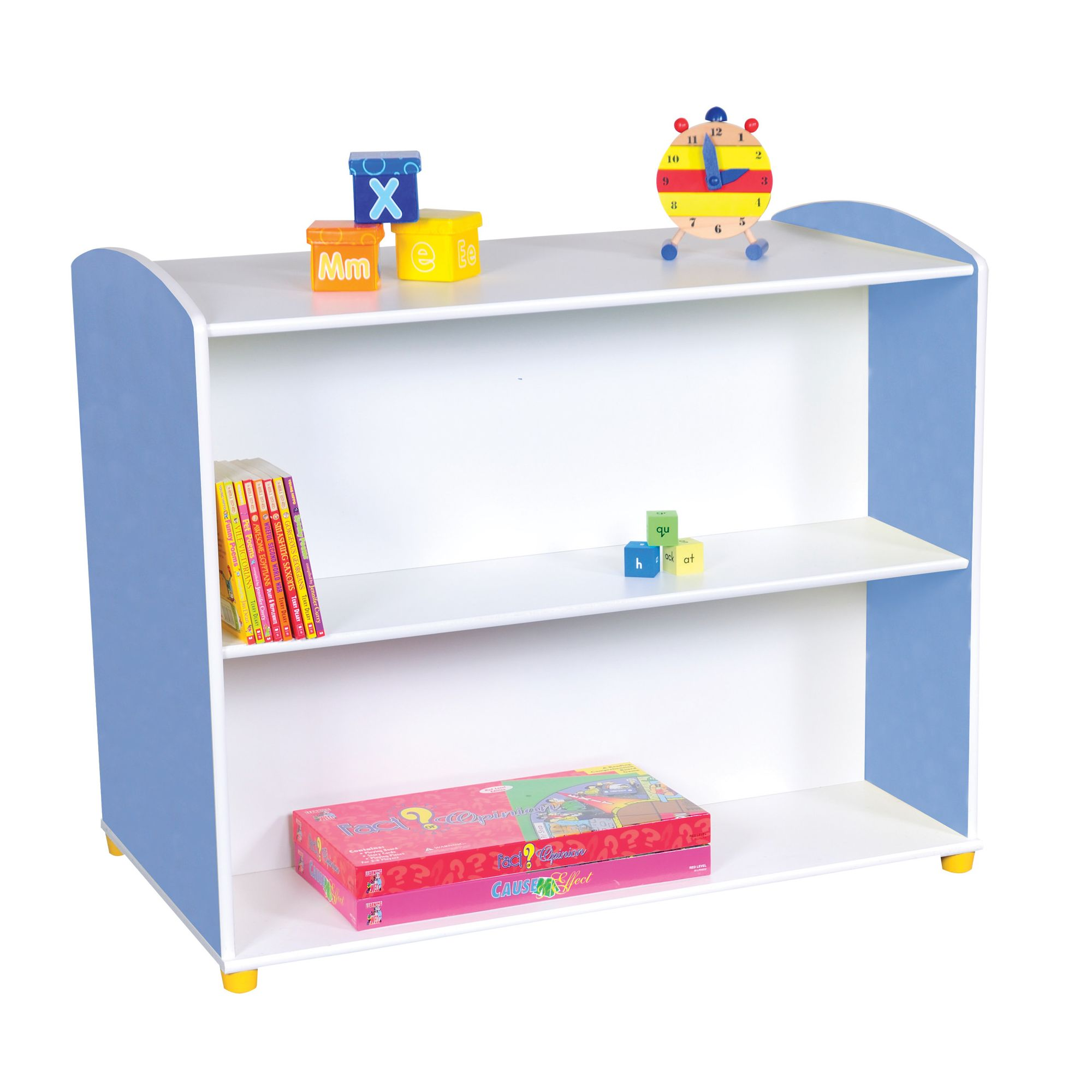 Liberty House Toys Elite Double Sided Straight Unit with 2 Shelves at Tesco Direct