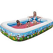 """Mickey Mouse Clubhouse Family Paddling Pool 103"""" - 91008"""