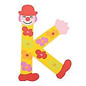 Tatiri Crazy Clown Letter K ((Yellow) Flowers)