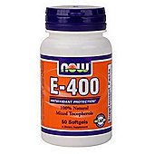 Now Vitamin E-400 IU MT 50 Softgels
