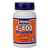 Now Vitamin E-400 IU MT 50 Softgels