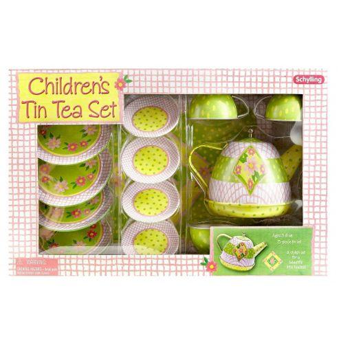 Schylling Tin Tea Set 15 Piece