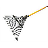 Faithfull Lawn Rake Fibreglass Shaft