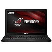 "Asus ROG GL552VW-DM201T Gaming Laptop 15.6"" Intel Core i7 6700HQ 8GB 256GB SSD + 1TB HDD Windows 10"