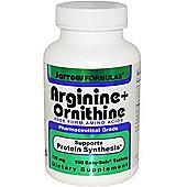 Jarrow Arginine + Ornithine 500Mg/250Mg 100 Capsules