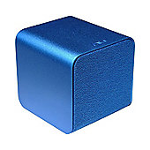 NuForce Cube Portable Speaker, Headphone Amp, and Audiophile USB DAC, Blue