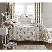 Dreams n Drapes Elodi Rose 66x72 inches (168x183cm) Lined Curtains - Rose