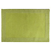 Tesco Tiered Border Wool Rug Apple 150X240Cm