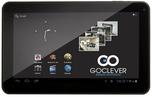 GoClever R104 - 10 Inch Single Core, Widescreen LCD, 1GB/8GB Jellybean Tablet