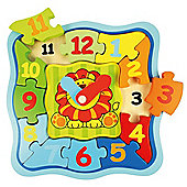 Bigjigs Toys BJ534 Lion Clock Puzzle