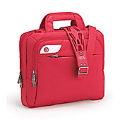 i-stay 13.3 inch tablet, netbook, ultrabook bag with non slip bag strap Red
