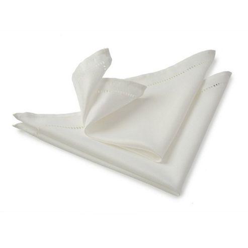 Blue Canyon Sienna Napkin - White