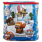 Paw Patrol Jake's Cabin Block Set