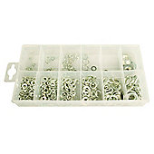 350-Piece Lock and Flat Washer Set