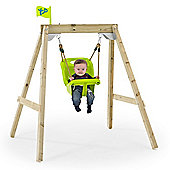 """TP New Forest Acorn """"Growable"""" Swing Frame with Early Fun Baby Swing Seat and Deluxe Swing Seat"""