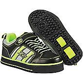 Heelys Bolt 2.0 Black/Lime Heely X2 Shoe - Black