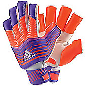 Adidas Predator Fingersave Zones Ultimate Goalkeeper Gloves - Purple
