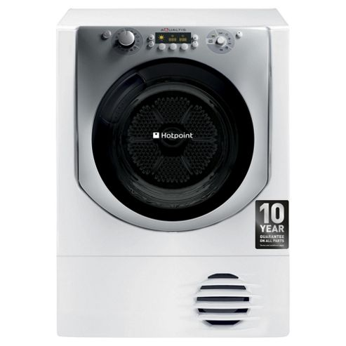 Hotpoint Aqualtis Condenser Tumble Dryer, AQC9 BF7 E1 (UK) - White